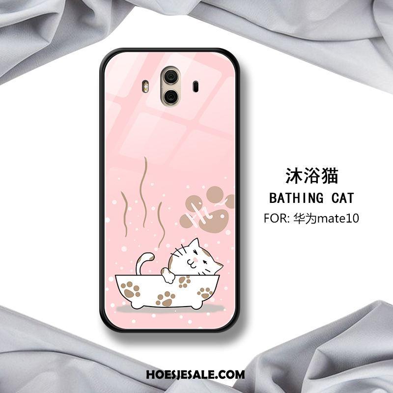 Huawei Mate 10 Hoesje Spiegel Mooie Mobiele Telefoon Rood Glas Kopen