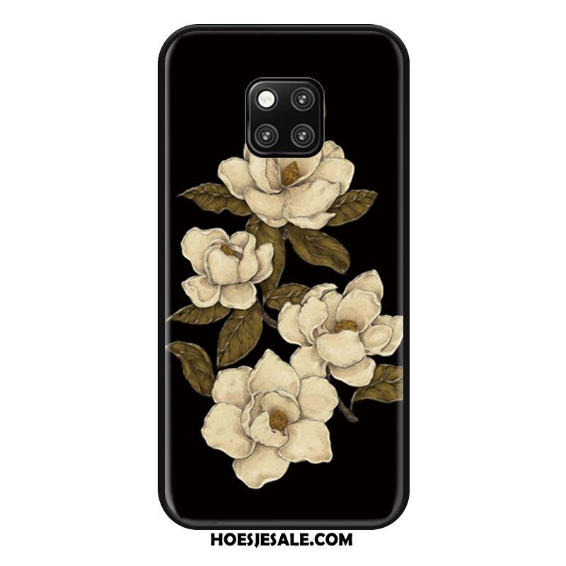 Huawei Mate 20 Rs Hoesje Siliconen Licht Hanger Hoes Zwart Online