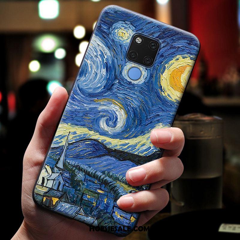 Huawei Mate 20 X Hoesje Mobiele Telefoon Hoes Siliconen Geel Bescherming Online