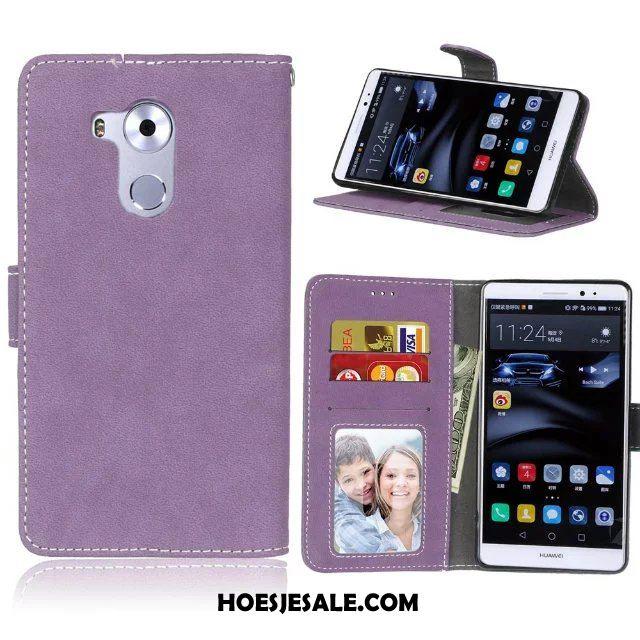 Huawei Mate 8 Hoesje All Inclusive Wit Portemonnee Leren Etui Zacht Sale