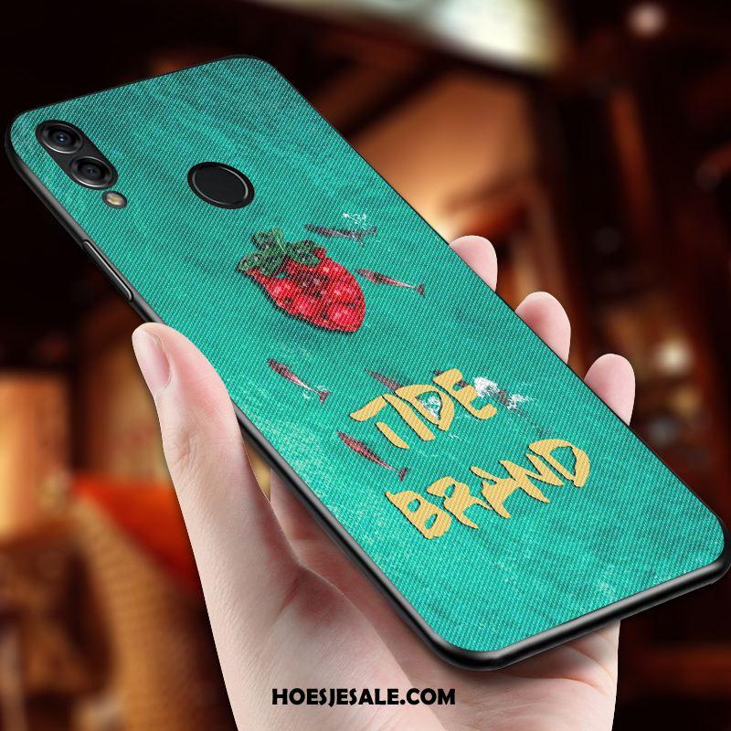 Huawei Nova 3e Hoesje Hoes Scheppend Mobiele Telefoon Groen Net Red Kopen