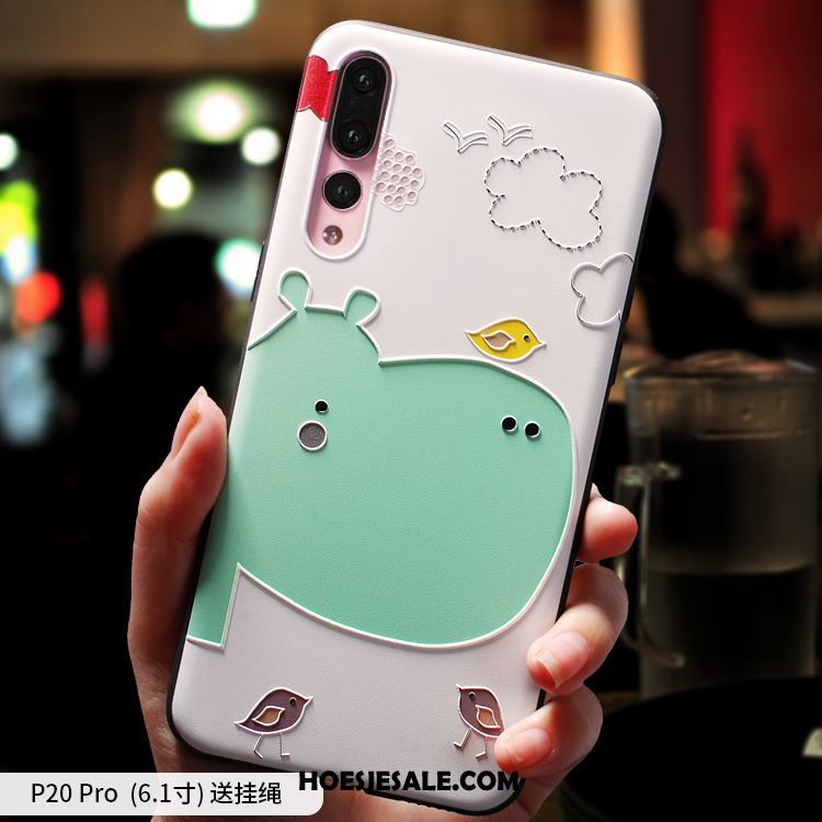 Huawei P20 Pro Hoesje Schrobben Scheppend Trendy Merk Siliconen Mobiele Telefoon Kopen