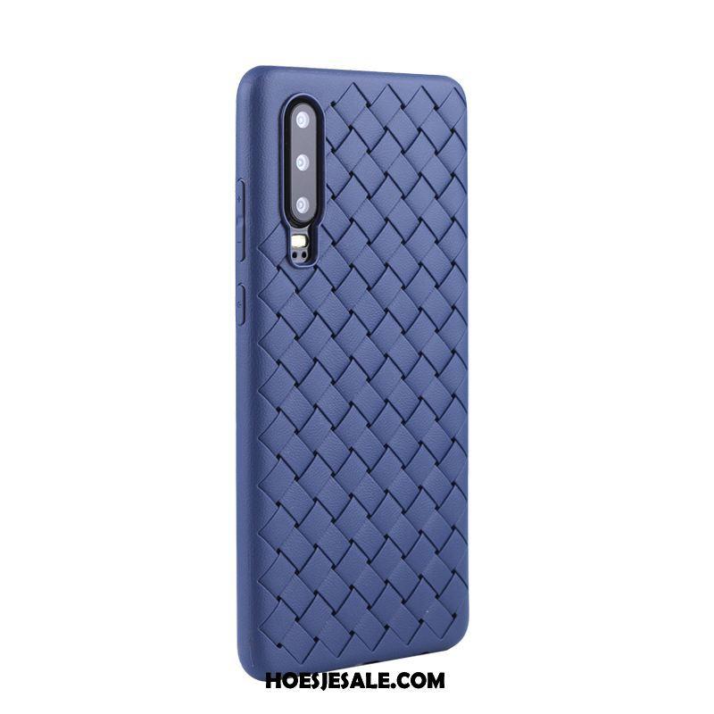 Huawei P30 Hoesje Persoonlijk Bescherming Mobiele Telefoon Net Red Weven Kopen