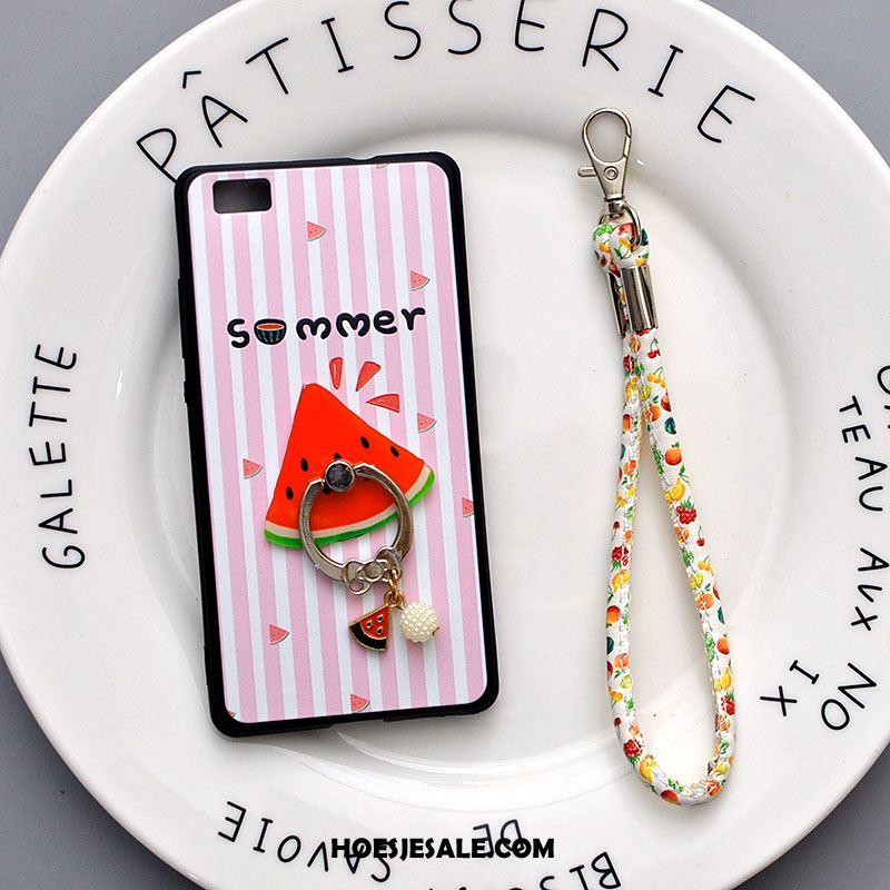 Huawei P8 Lite Hoesje Spotprent Mobiele Telefoon Siliconen Anti-fall Zacht Sale