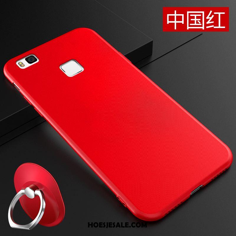 Huawei P9 Lite Hoesje Eenvoudige Mobiele Telefoon Jeugd Hoes Roze Online