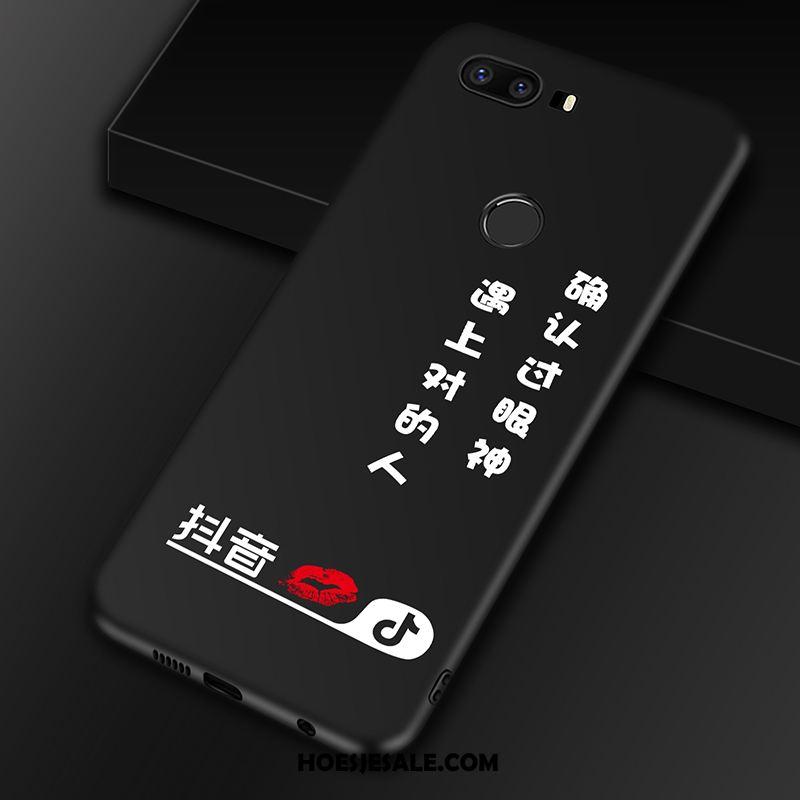 Huawei P9 Plus Hoesje Tempereren Hoes Mobiele Telefoon Zwart Bescherming Goedkoop