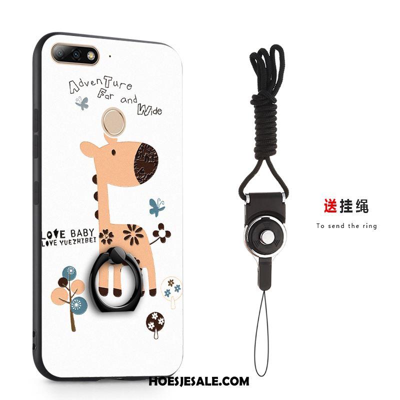 Huawei Y7 2018 Hoesje Mobiele Telefoon Trend Klittenband Bescherming Hoes Kopen