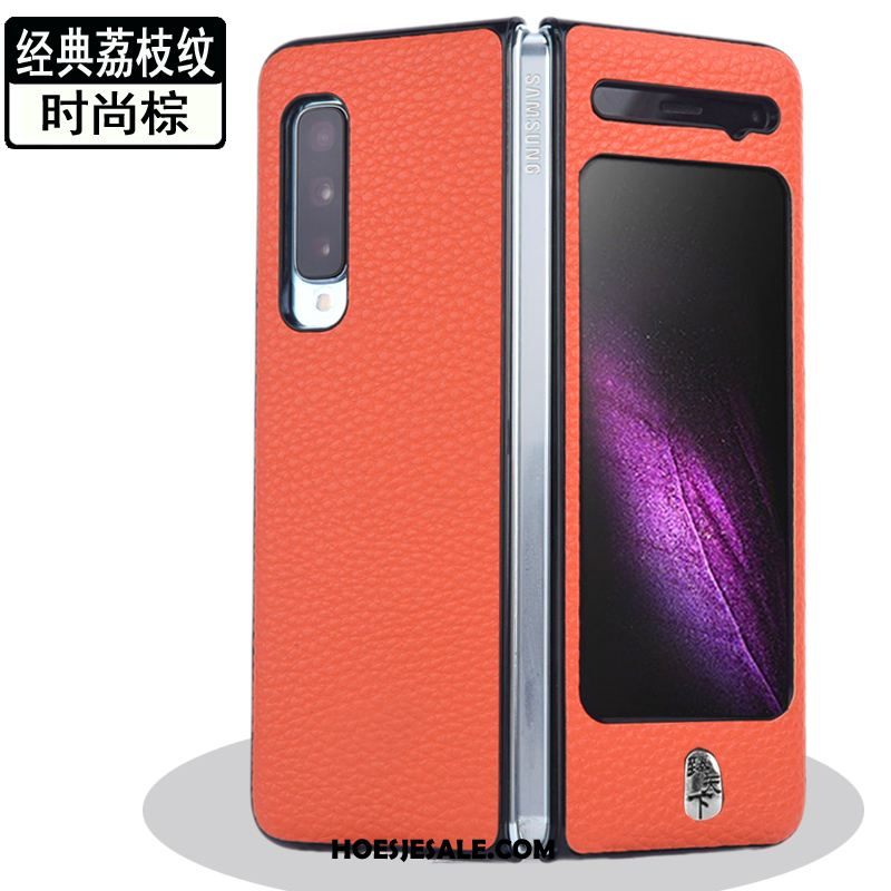 Samsung Fold Hoesje Mobiele Telefoon Anti-fall Ster Goud Hoes Kopen