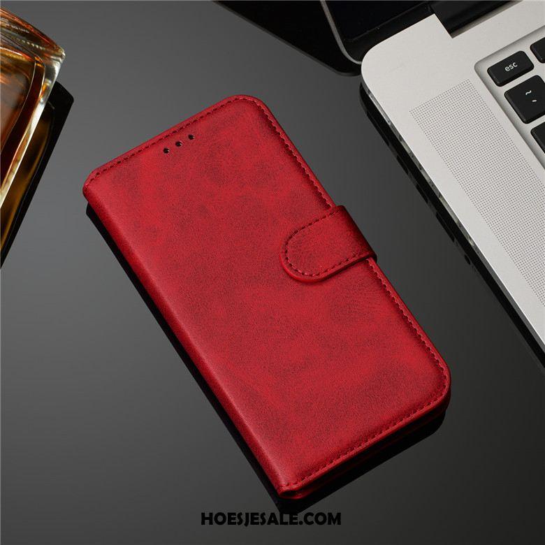 Samsung Galaxy A30s Hoesje Folio Bescherming Hoes Patroon Leer Korting