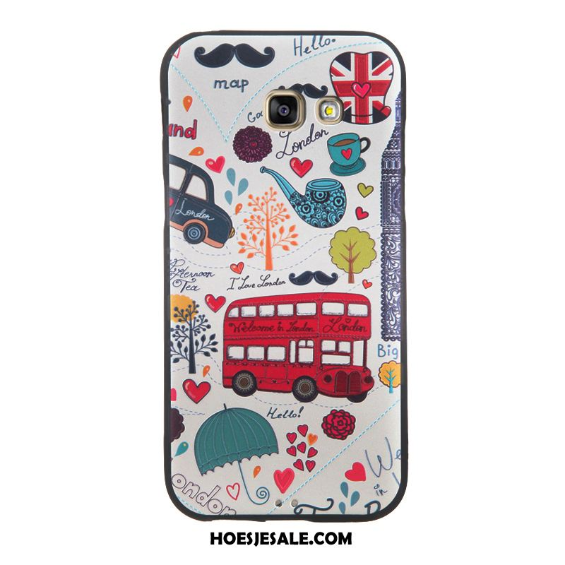 Samsung Galaxy A5 2017 Hoesje Bescherming Hoes All Inclusive Zwart Ster Winkel