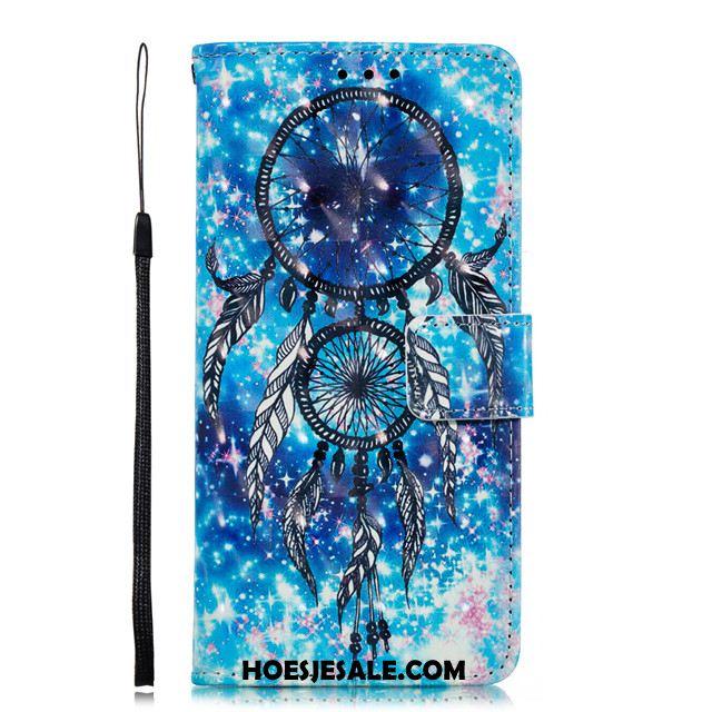 Samsung Galaxy A60 Hoesje Anti-fall Mobiele Telefoon Blauw Clamshell Hoes Kopen
