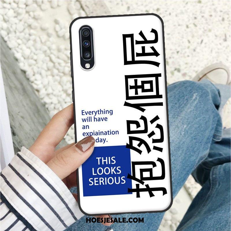 Samsung Galaxy A70 Hoesje Mobiele Telefoon Hoes Net Red Rood Zacht Sale