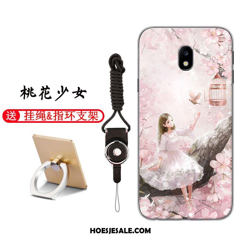 Samsung Galaxy J3 2017 Hoesje Eenvoudige Mobiele Telefoon Anti-fall Bescherming Ster Sale