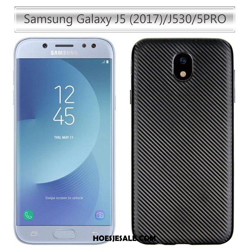 Samsung Galaxy J5 2017 Hoesje Anti-fall Bescherming Zacht Fiber Mobiele Telefoon Aanbiedingen