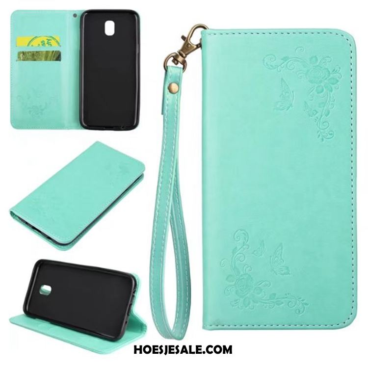 Samsung Galaxy J5 2017 Hoesje Mobiele Telefoon Portemonnee Folio Kaart Ster Sale