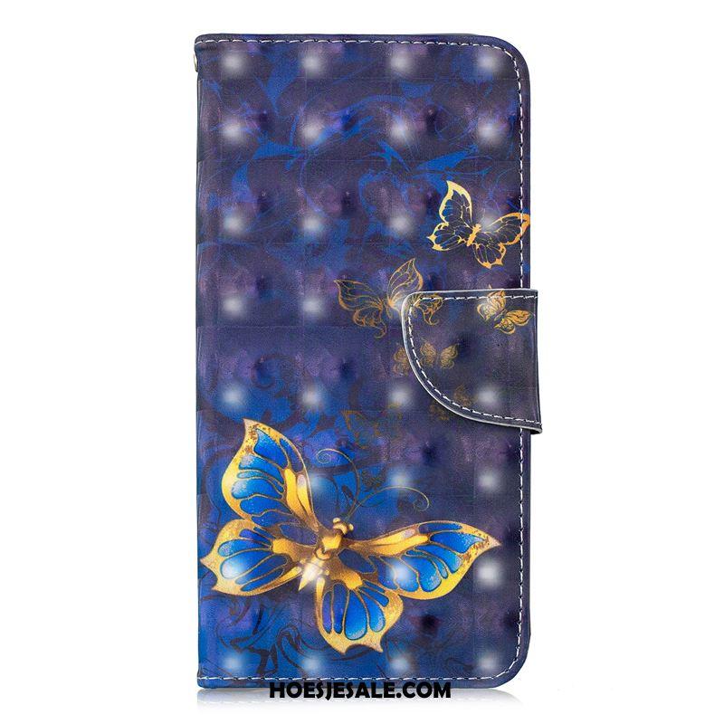 Samsung Galaxy J6 Hoesje Scheppend Mobiele Telefoon Ster Blauw Ondersteuning Goedkoop