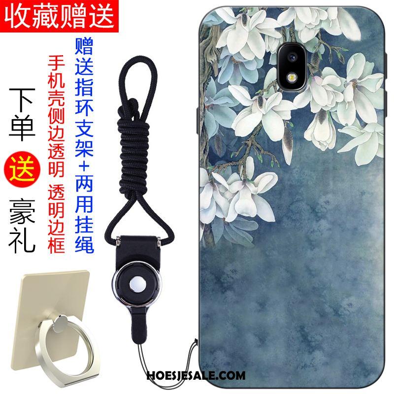 Samsung Galaxy J7 2017 Hoesje Blauw Mobiele Telefoon Ster Vers Trend Sale