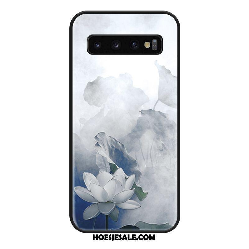 Samsung Galaxy S10 Hoesje Mode All Inclusive Lovers Hanger Chinese Stijl Winkel