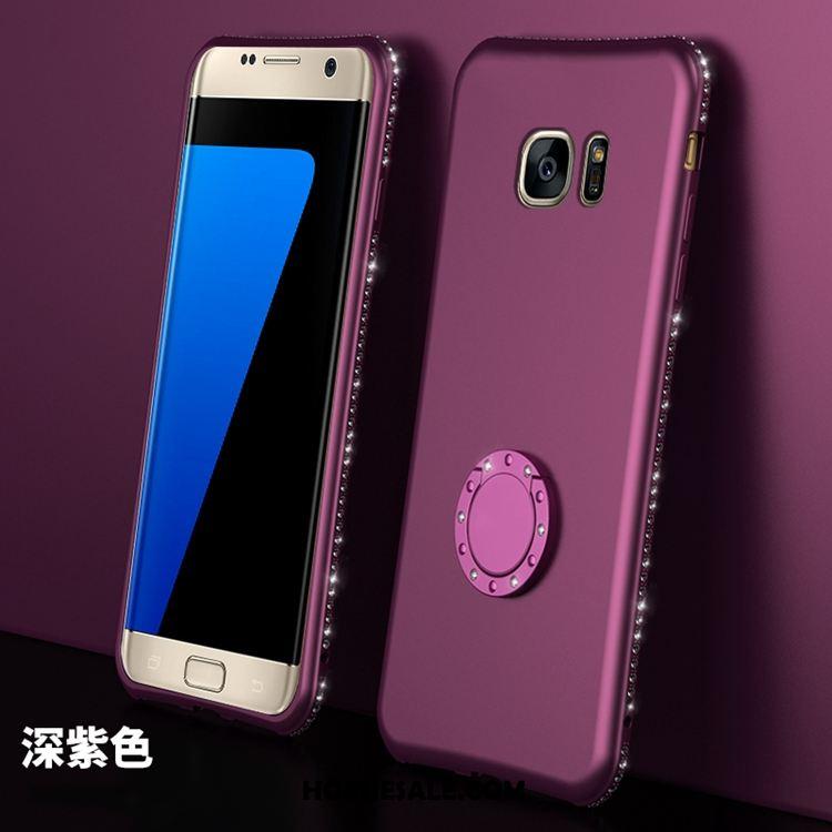 Samsung Galaxy S7 Hoesje Zacht Purper Bescherming Anti-fall Ster Korting