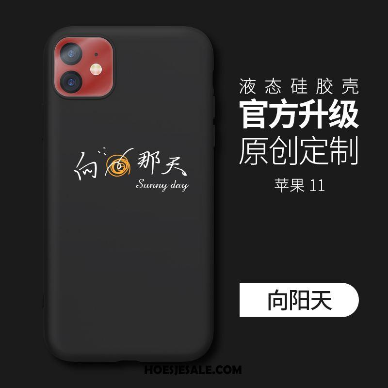 iPhone 11 Hoesje Mobiele Telefoon Siliconen Zacht Trend Groen Goedkoop