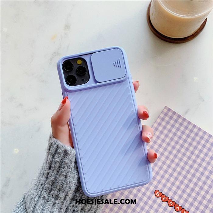 iPhone 11 Pro Hoesje Schrobben Mobiele Telefoon Eenvoudige Anti-fall Lovers Korting