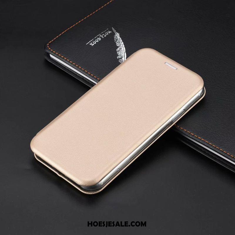 iPhone 11 Pro Max Hoesje Leren Etui Bedrijf All Inclusive Anti-fall Mobiele Telefoon Kopen