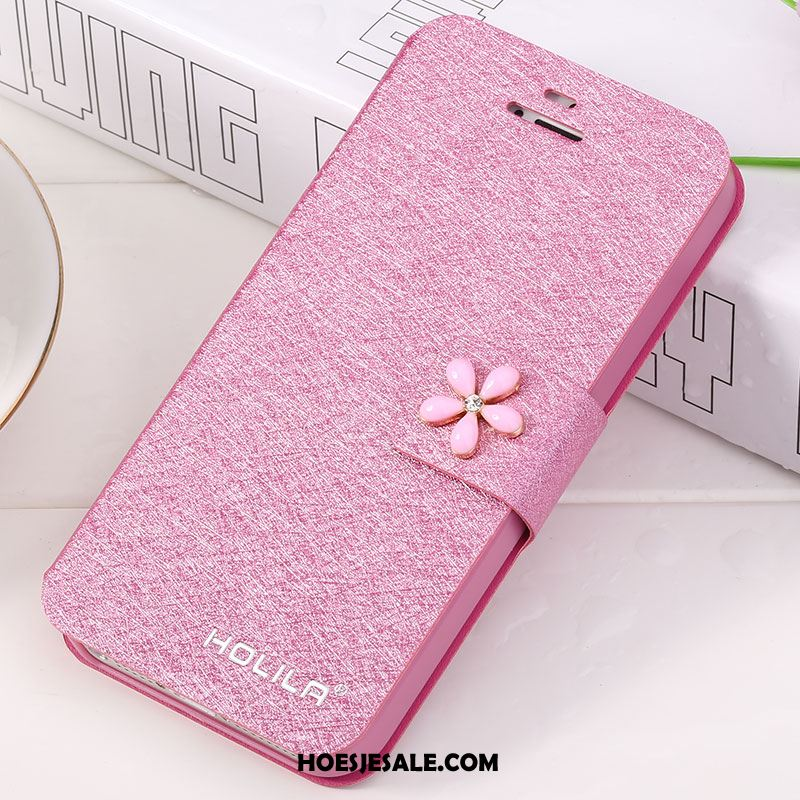 iPhone 5 / 5s Hoesje Hoes Mobiele Telefoon Rood Bescherming Folio Winkel