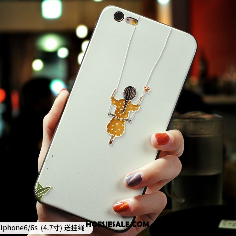 iPhone 6 / 6s Hoesje Mini Eenvoudige Nieuw Scheppend Siliconen Kopen