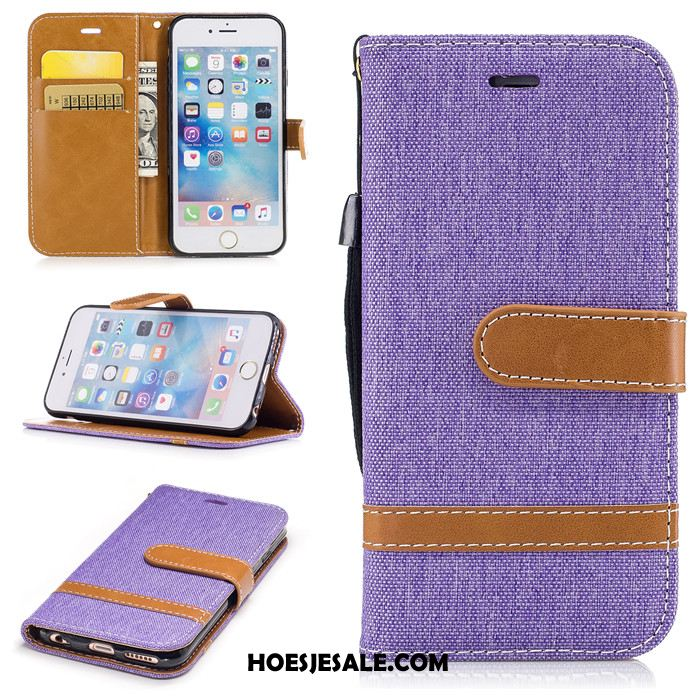 iPhone 6 / 6s Hoesje Mobiele Telefoon Zacht Leren Etui Trend Hoes Kopen