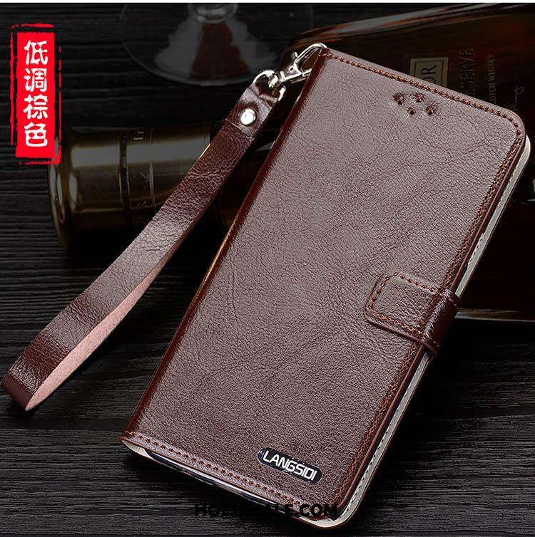 iPhone 6 / 6s Hoesje Scheppend Eenvoudige Leren Etui Mobiele Telefoon Bruin Sale