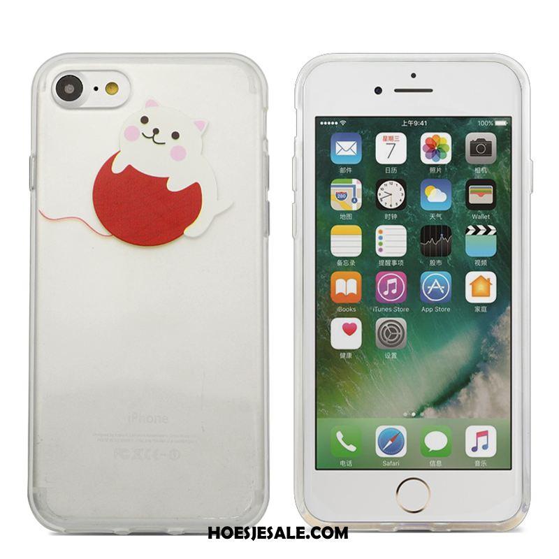 iPhone 6 / 6s Plus Hoesje Wit Hoes Mobiele Telefoon Bescherming Zacht Korting