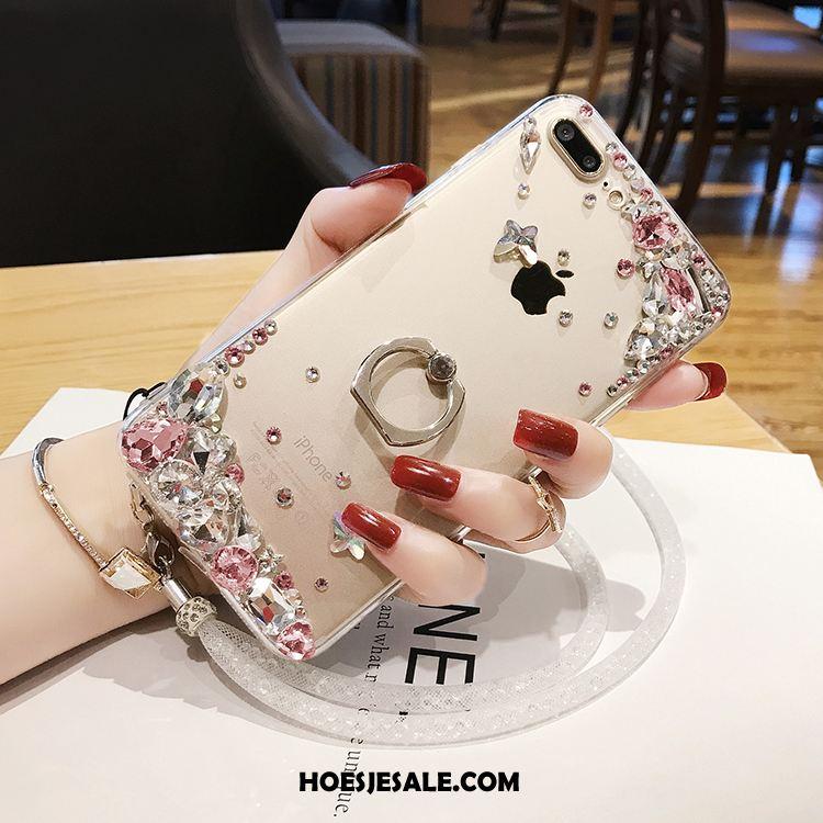 iPhone 7 Plus Hoesje Ondersteuning Luxe Hoes Scheppend Opknoping Nek Kopen