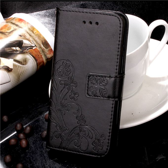 iPhone 8 Plus Hoesje Hanger Clamshell Leren Etui Anti-fall Bescherming Korting