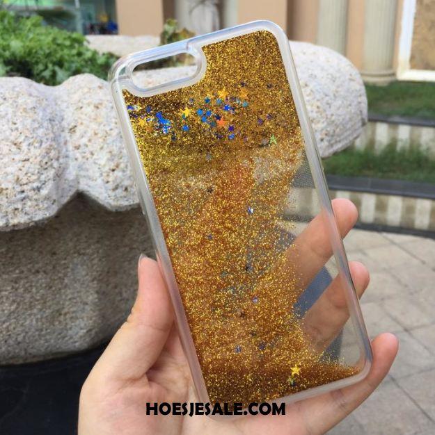 iPhone Se Hoesje Siliconen Anti-fall Groen Hoes Drijfzand Sale