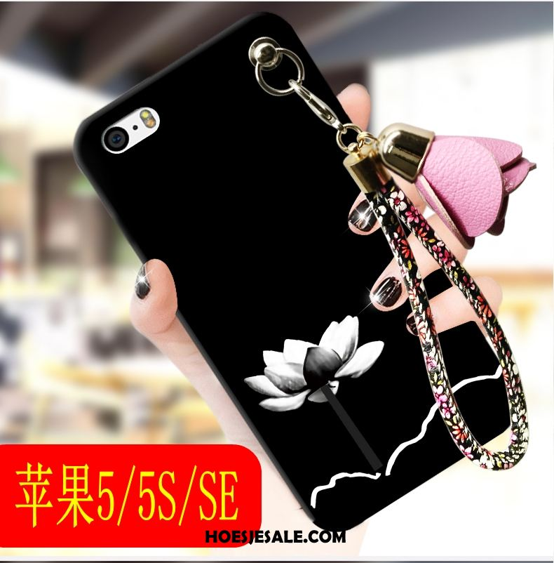 iPhone Se Hoesje Trend Zacht Zwart Siliconen Mobiele Telefoon Kopen