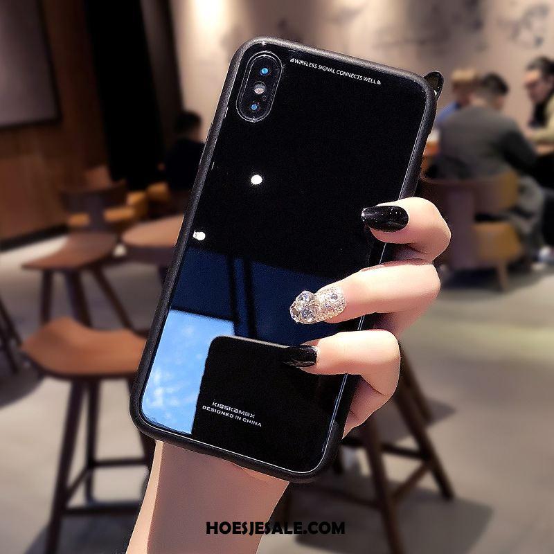 iPhone X Hoesje Gehard Glas Nieuw Mobiele Telefoon Anti-fall Siliconen Online