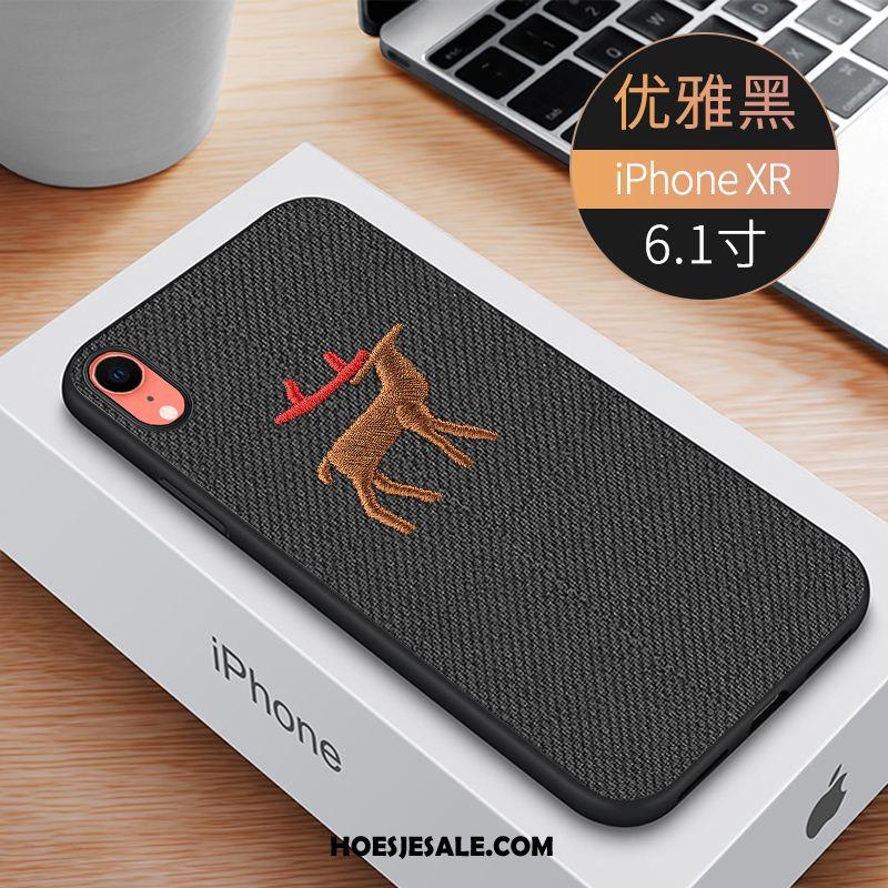 iPhone Xr Hoesje Persoonlijk Borduurwerk Nieuw Mobiele Telefoon Trend Sale