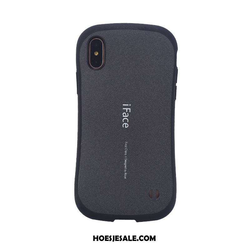 iPhone Xs Max Hoesje Hoes Hanger Anti-fall Schrobben Mobiele Telefoon Goedkoop