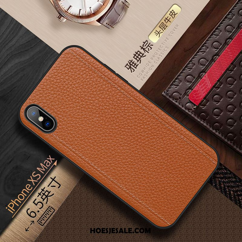 iPhone Xs Max Hoesje Trend High End Kwaliteit Anti-fall Grijs Online