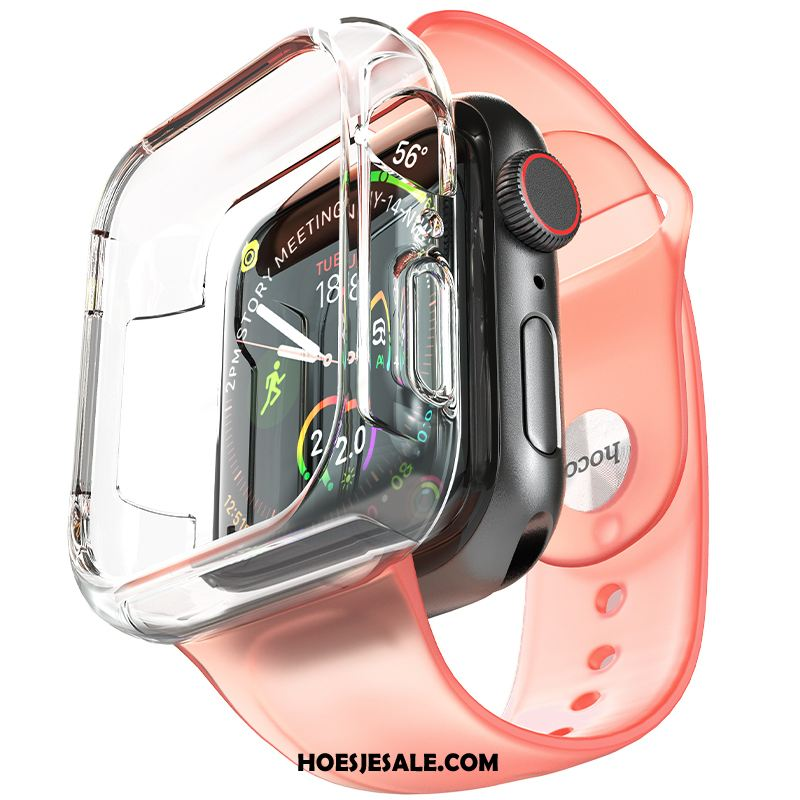 Apple Watch Series 2 Hoesje Siliconen Trend Roze Hoes Accessoires Korting