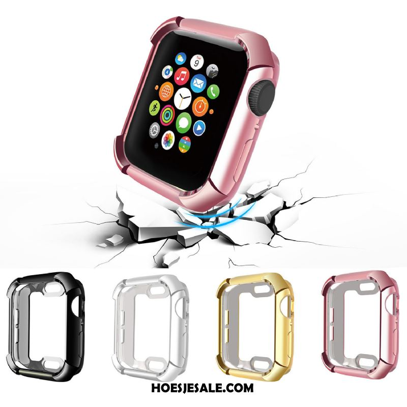 Apple Watch Series 4 Hoesje Bescherming All Inclusive Accessoires Anti-fall Plating Sale