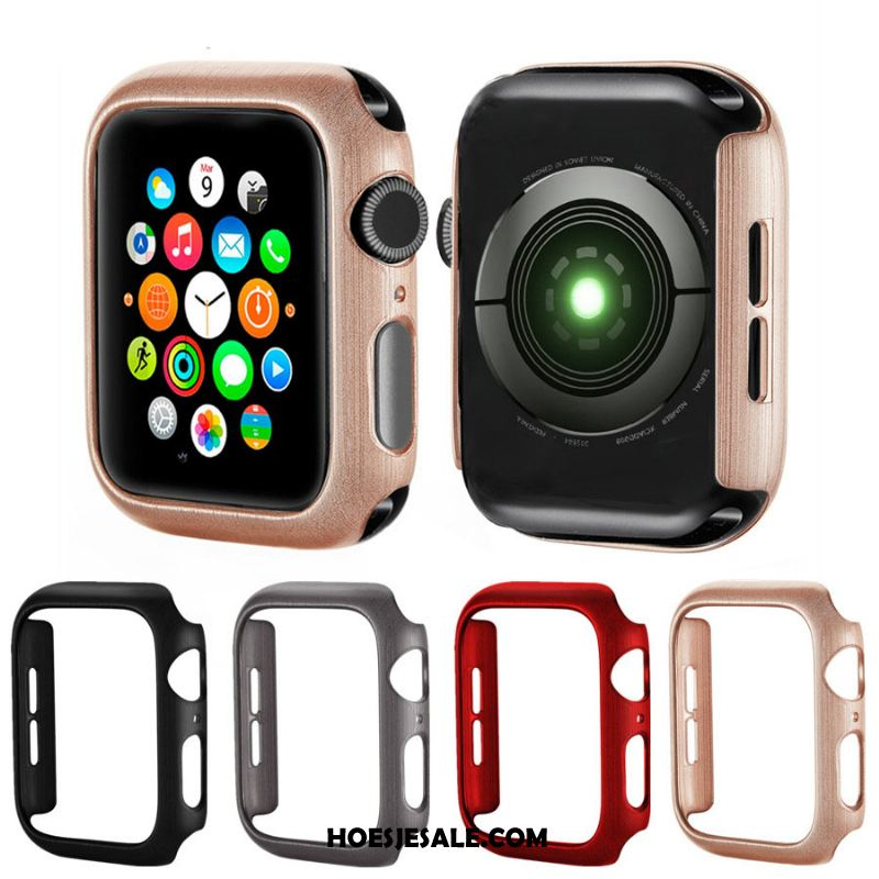 Apple Watch Series 4 Hoesje Patroon Omlijsting Roze Hoes Anti-fall Sale