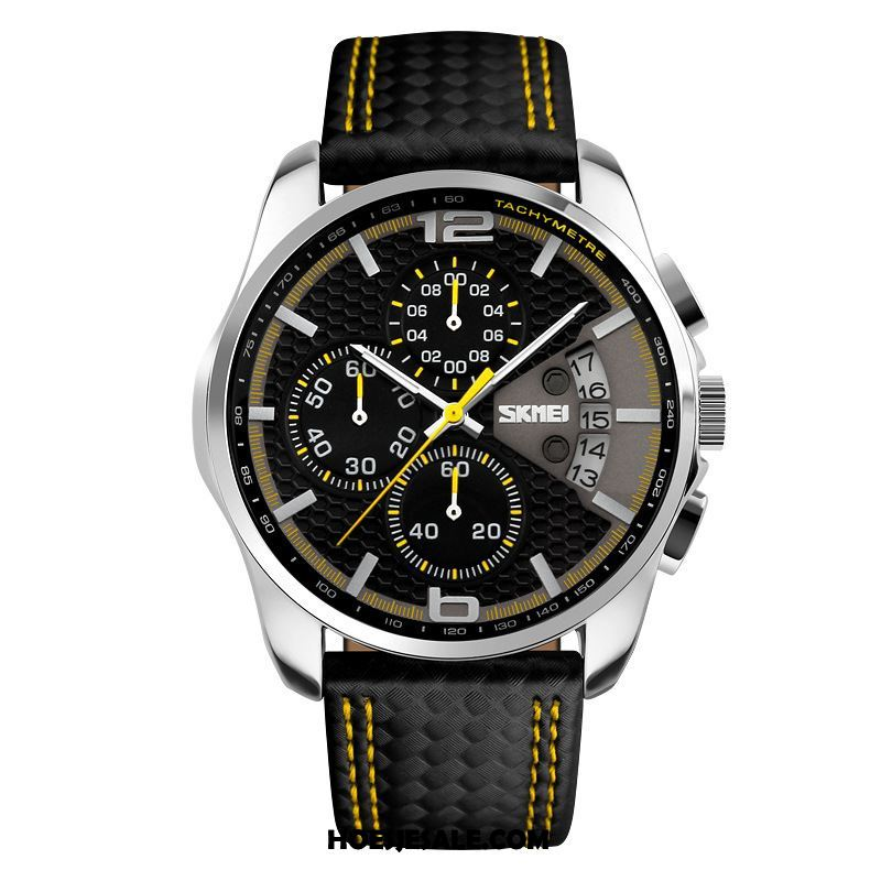Horloges Heren Mode Mannen Waterdicht Horloge Business Korting