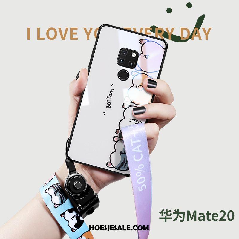 Huawei Mate 20 Hoesje Scheppend Mooie Siliconen Glas Anti-fall Korting