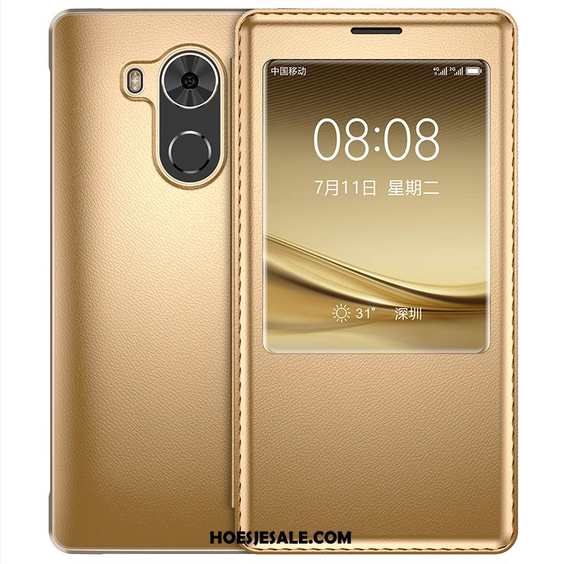 Huawei Mate 8 Hoesje Anti-fall Net Red Siliconen All Inclusive Leren Etui Online