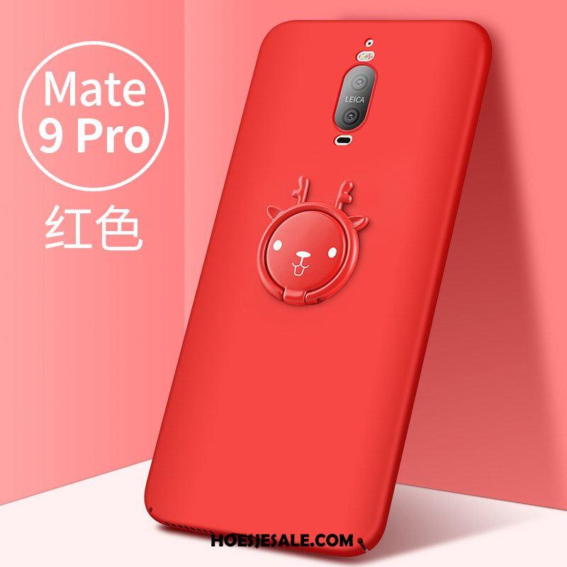 Huawei Mate 9 Pro Hoesje Rood Trendy Merk Persoonlijk Hoes Mobiele Telefoon Goedkoop
