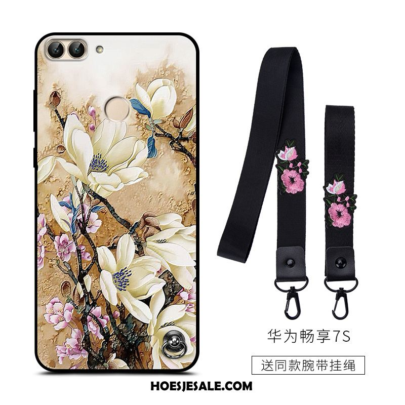 Huawei P Smart Hoesje Hanger All Inclusive Anti-fall Trend Schrobben Kopen