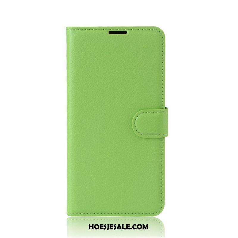 Huawei P10 Lite Hoesje Leren Etui Bescherming Jeugd Hoes Clamshell Goedkoop