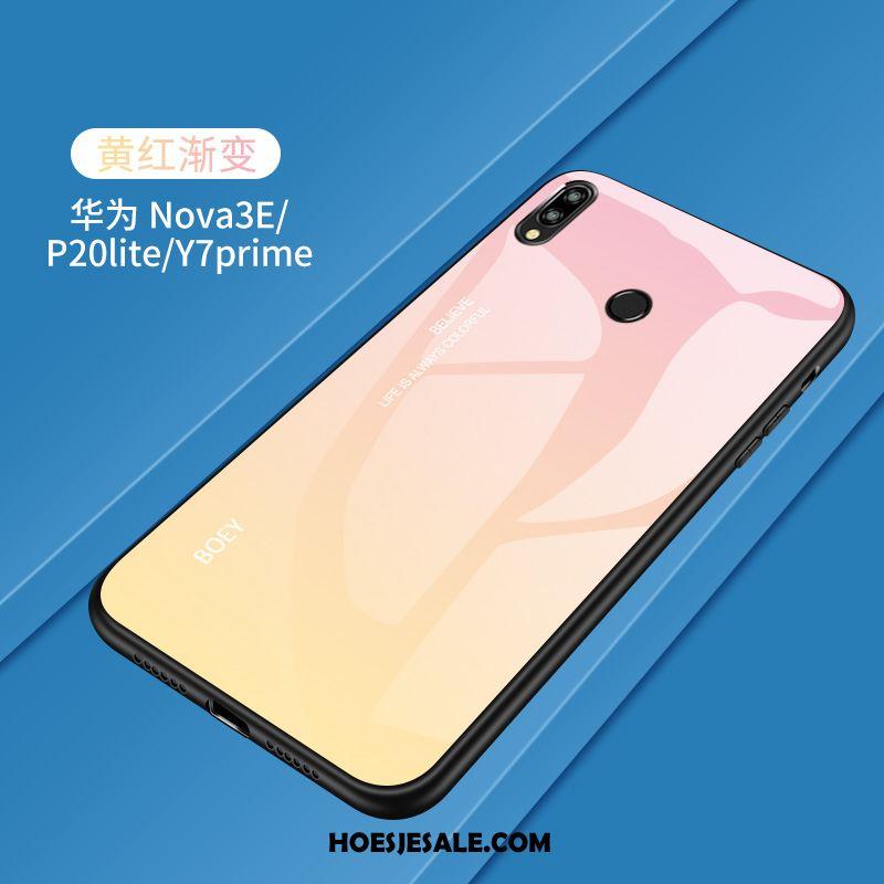 Huawei P20 Lite Hoesje Hoes Jeugd Gehard Glas Geel Mobiele Telefoon Online