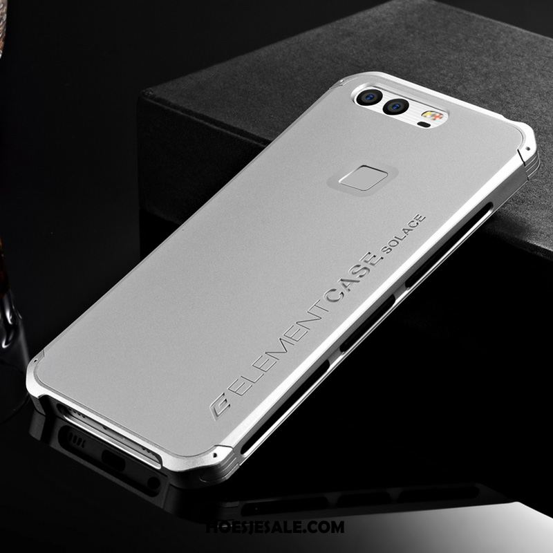 Huawei P9 Hoesje Metaal Omlijsting All Inclusive Anti-fall Siliconen Sale